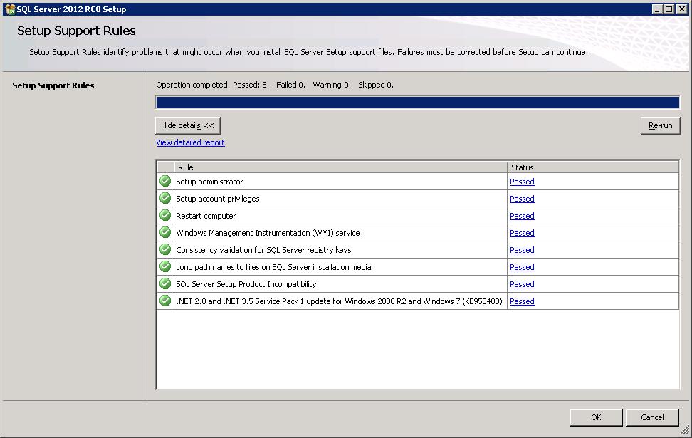 SQL Server 2012 RC0 on Windows Server 2008 R2 SP1 x64bit