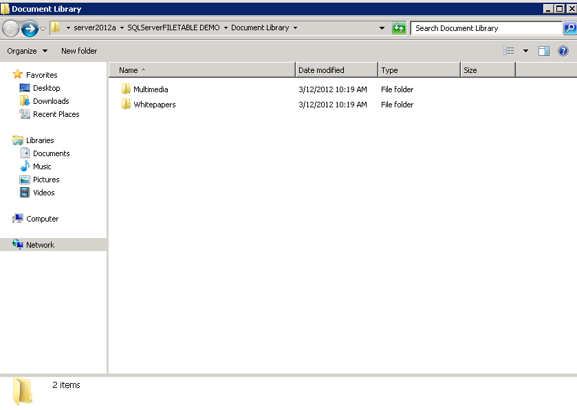 File table in sql server 2012 great flexibility to - How to create a table in wordpad ...