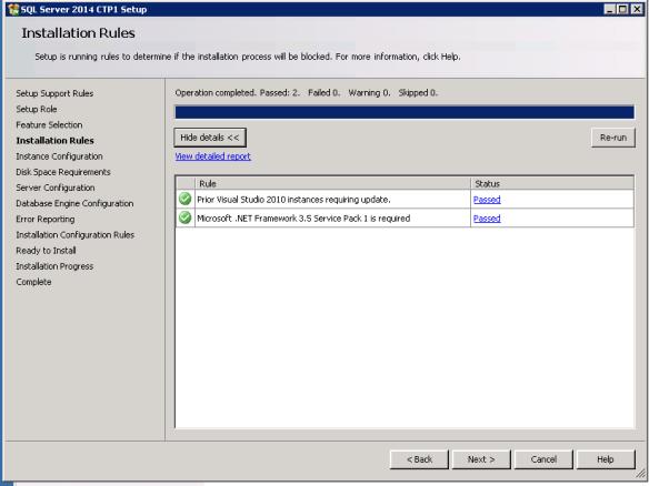 SQL2014Install