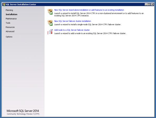 SQL2014Install1