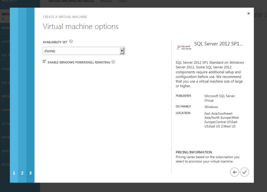 Azure VM Availability Set