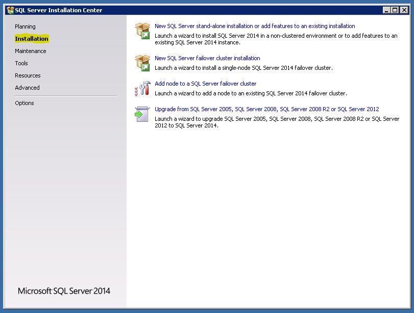 SQL2014 RTM Install1