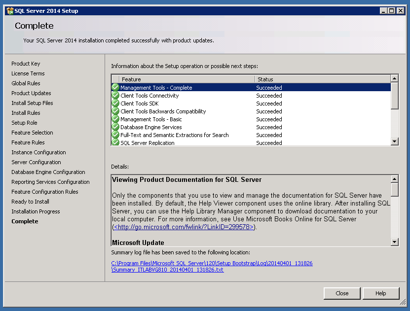 SQL Server 2014 Install – Step by Step | SQLSailor