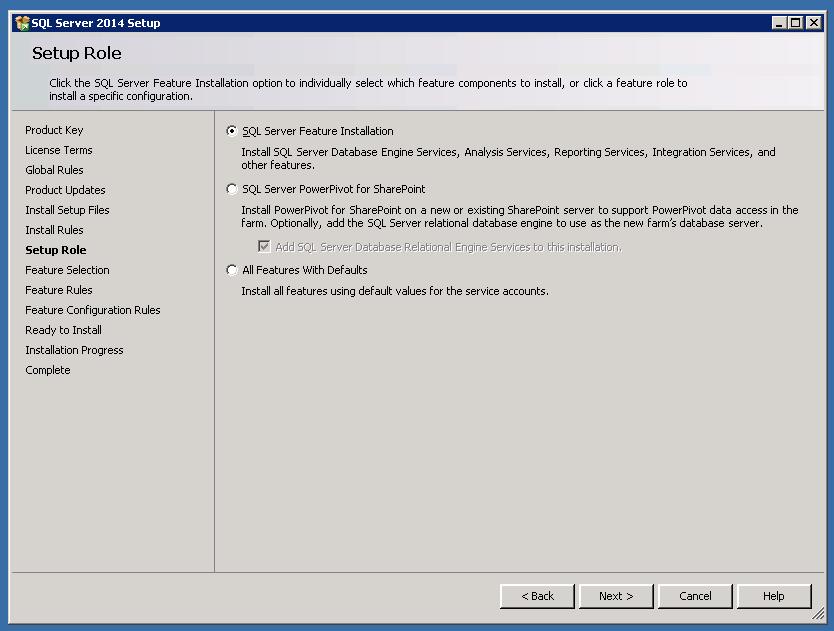 SQL2014 RTM Install6
