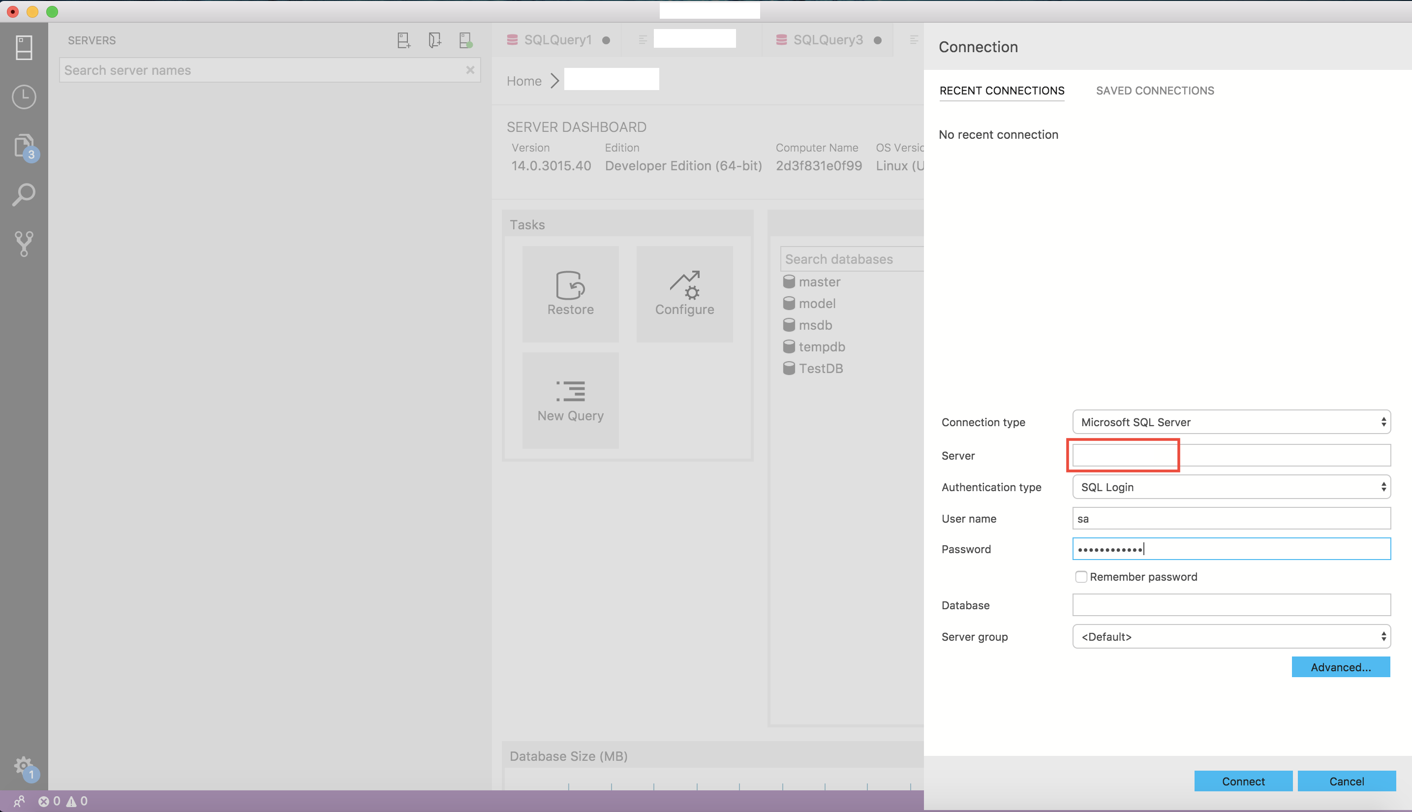SQL Server 2017 in a Docker Container running on a Mac – Tips and Tricks    SQLSailor